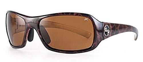 Sundog Captiva Mela-Lens Sonnenbrille in Gold Demi/braun