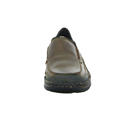scarbello 550 Herren Slipper Halbschuh Komfort sportlicher und eleganter Boden Braun (Braun)