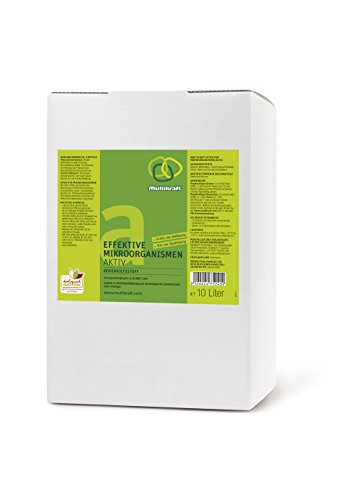 Effektive Mikroorganismen Aktiv (EM-Aktiv), Bodenhilfsstoff - Dünger - 10 Liter Box/Bag