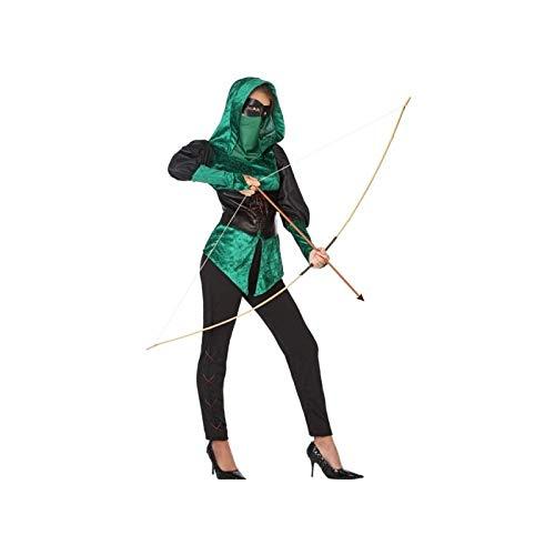 ATOSA 53908 Bogenschützin Kostüm für die Dame Costume -