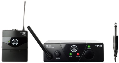 AKG WMS40 MINI INST ISM3 - Micrófono inalámbrico (banda UHF), color negro