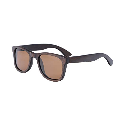 Zbertx Mode Männer Sonnenbrillen Benutzerdefinierte Holz Bambus Sonnenbrille Platz Frauen Feminino Polarisierte Sonnenbrille,braun