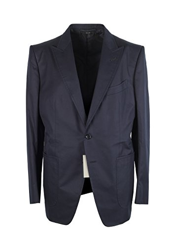 CL - TOM FORD O'Connor Blue Suit Size 54 / 44R U.S. Cotton Fit Y