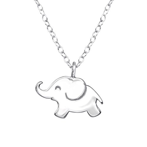 Collar de elefante – plata de ley 925 – 45 cm – The Rose & Silver Company – RS0704