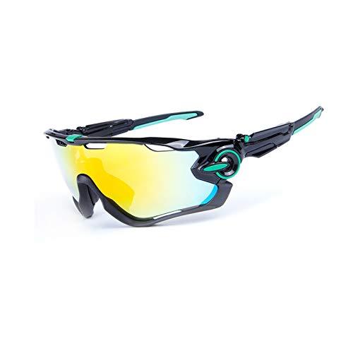 KnSam Winddicht Uv-Beständig Männer Sonnenbrille Kratzfester Scheibe Panoramablickfeld Stil K Schutzbrille