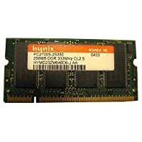 256MB DDR SODIMM (200 Pin) 333 Mhz DDR333 PC2700 CL2,5