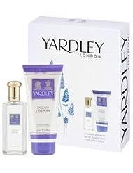 Yardley English Coffret Parfum Femme Lavender 125 ml + Lait Corps 100 ml