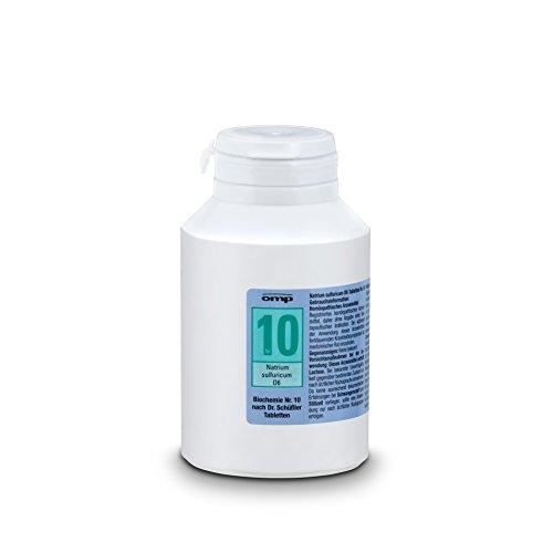 Schuessler Salz Nr. 10 Natrium sulfuricum D6 - 1000 Tabletten, glutenfrei