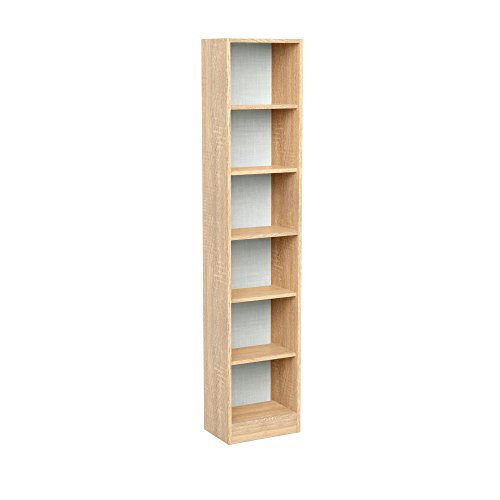 INFINIKIT Haven Bibliothèque colonne en chêne doré