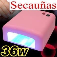 Oferta de lampara secador de uñas UV - CE-GENUINE - ENVIO 24/48 HORAS