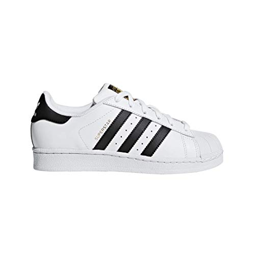 Adidas Unisex-Kinder Superstar Low-Top, Weiß Core Black/FTWR White), 36 EU - Klassiker Adidas Schuhe