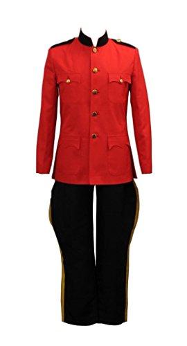 Due South Rot Mountie Serge Uniform Tunic Kostüm Herren - Mountie Kostüm