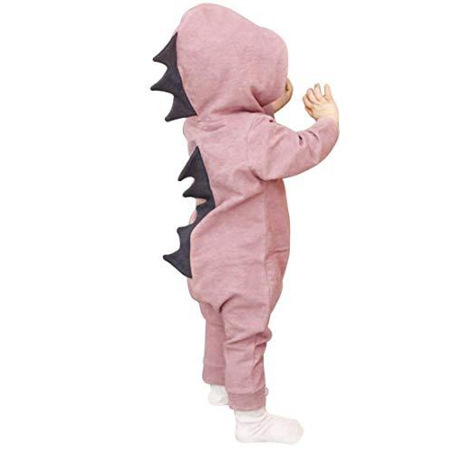 AMOYER Baby-Mädchen-Halloween-Dinosaurier-Kostüm Neugeborene Kind-Kleinkind-Overall-Spielanzug (Kleinkinder Für Dinosaurier-kostüm)