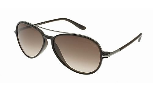 75dd02ecfb5 Tom Ford 0149 Ramone Silver   Brown Frame Brown Gradient Lens Plastic  Sunglasses - Buy Online in Oman.
