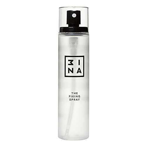 3INA Maquillage - Vegan - Cruelty Free - Sans Parabens - Fixateur maquillage - The Fixing Spray Longue Tenue - Matifiant - Rafraichissant 100 ml