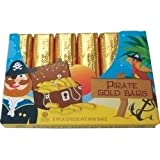 Pirate Bullion Bars - 6 Gold foiled bars in one pack