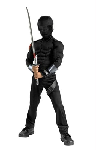 Snake Eyes Classic Muscle Costume - (Maske Kostüm Eyes Snake)