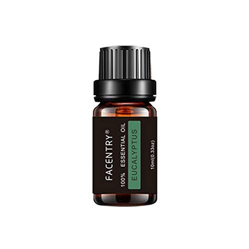 XQxiqi689sy Raumduft, 10 ml, natürlicher Lavendel, Rosmarin, feuchtigkeitsspendender Duft, Aromatherapie, ätherisches Öl, Eukalyptus, Einheitsgröße -