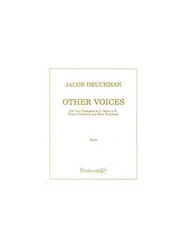 Other Voices: 2 Trompeten, Horn, Posaune und Bass-Posaune. Stimmensatz.