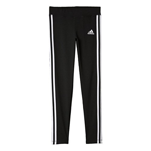 adidas Mädchen Gear Up Linear Hose, Black/White, 152