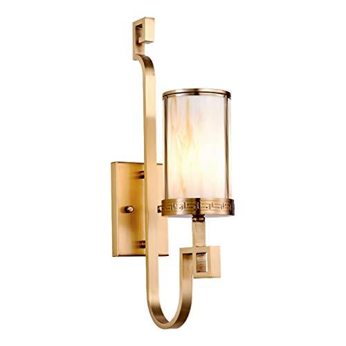 Thor-yan lampada da parete lampada da parete camera da letto in rame cina lampada da parete camera da letto in vetro soffiato a vento lampada in rame puro diametro 11,5 * altezza 54 * dalla distanza d