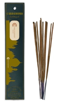 cardemomo Traditional Incense 10Sticks–Natural and Handmade Products–Flor de Oriente