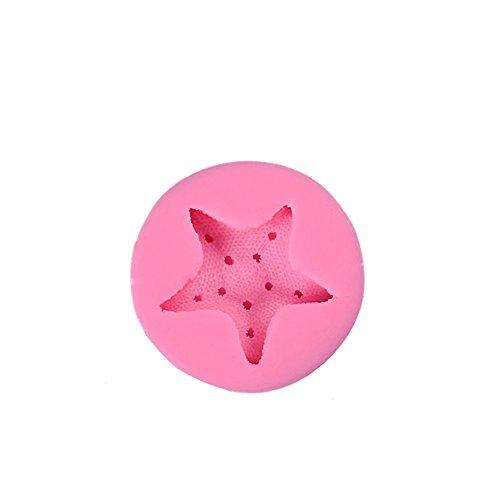 Fablcrew moldes Pastel Forma Estrella mar moldes Silicona