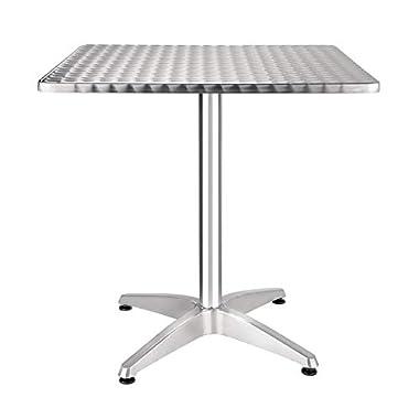 Bolero Bistro-Tisch, quadratisch, 720x 700x 700mm, für Restaurant Bar Café, Esstisch