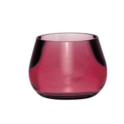 Kleine Wolke 5057466852 Bowl Gobelet pour Brosse à Dents Rouge 8,5 x 8,5 cm