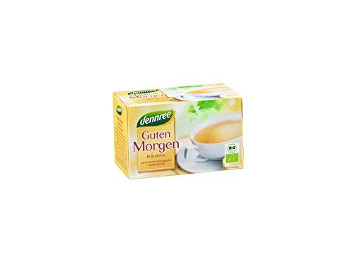 dennree Guten-Morgen-Tee im Beutel (20 Beutel) - Bio
