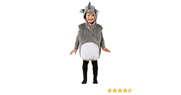 Orl Kinder Kostüm Erdmännchen Weste Karneval Fasching Gr.104