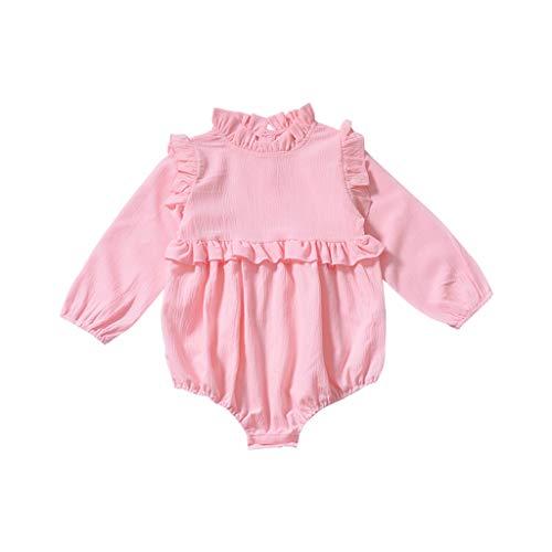 SJY Baby Kleidung Herbst Kleidung Baby Siamese Outing Kostüm Männer Und Frauen Kletteranzug Baby Siamese Kleidung Spitzenkragen Langarm Komfortable Baby (Verschiedene Internationale Kostüme)