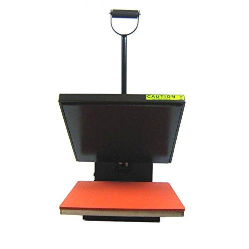 HobbyCut H001-S Transferpresse 38cm x 38cm Textilpresse 1800 Watt - 4