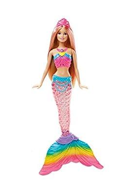 Barbie Rainbow Light-Up Barbie Mermaid Doll