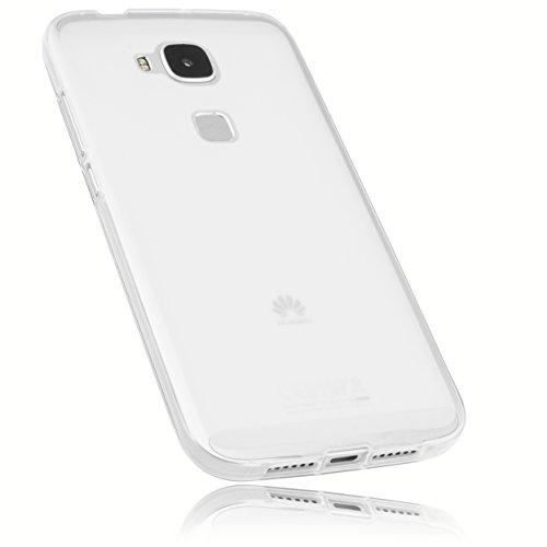 mumbi Schutzhülle für Huawei G8 / GX8 Hülle transparent weiss