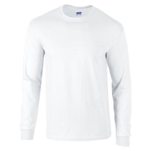 Gildan Ultra Cotton Long Sleeve Tee (1 Kids Ringer T-shirt)