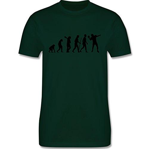 Evolution - Football Evolution - Herren Premium T-Shirt Dunkelgrün