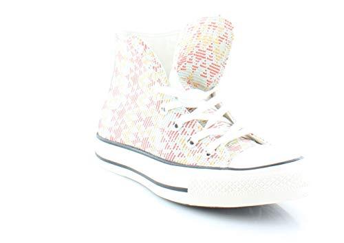 Converse Womens Chuck Taylor All Star Prints Sneaker (9 B(M) US, Natural/Brake Light) Converse Chuck Taylor Print Sneaker