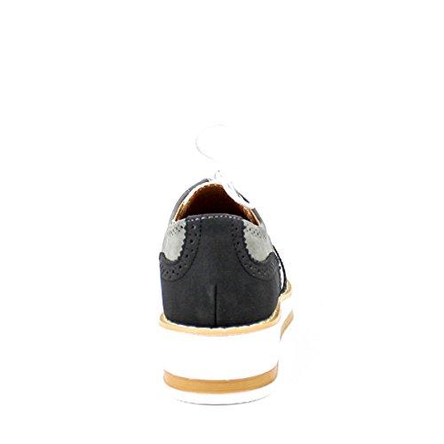 Buonarotti , Chaussures de ville à lacets pour femme Noir