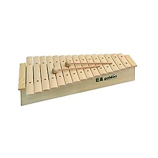 Goldon–Klangbausteine 1122015Sound Teller Xylophon mit hoher Sound Box