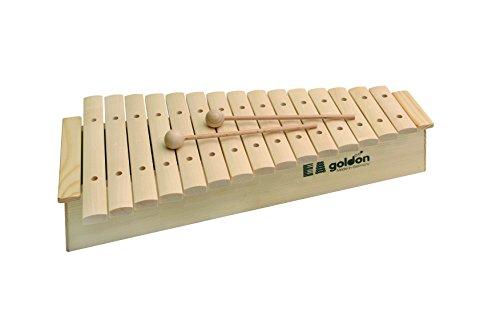 Goldon-Klangbausteine 1122015Sound Teller Xylophon mit hoher Sound Box