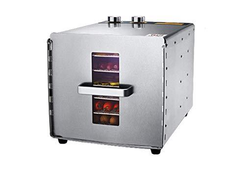 HhGold Trocknungsgerät für die Fermentation, Fermentationstemperierungstimer 304 Edelstahl 6 Trockner für die Frischverarbeitung von Fleisch und Gemüse (Farbe : Wie Gezeigt, Größe : Einheitsgröße) -