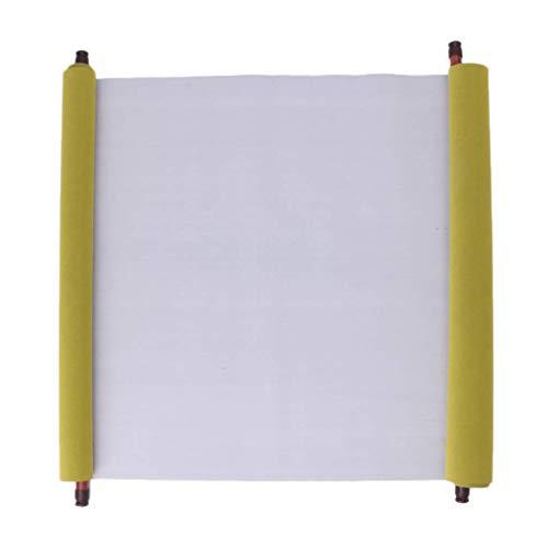 Isshop Reispapier 1,5 m Magic Tissue Chinese Reusable Book Stoff Kalligraphie Wasser Chinesische Kalligraphie Papier Schreibpinsel Reispapier