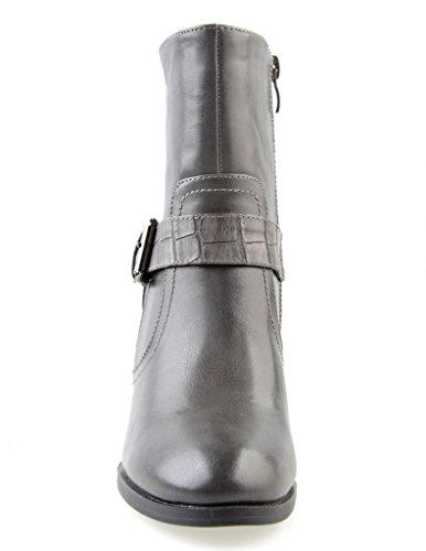 Eyekepper Chaussure cuir Synthetique / chaussures classique femme a talon Gris