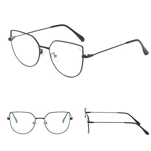 MRURIC Sonnenbrillen,Sunglasses Mode Fashion Square klare Linse Gläser Vintage Geek Nerd Retro...