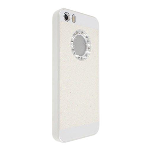 Asnlove Étui pour Apple iPhone 5/5S Dur Coque Housse Case de Protection Éclat Etui Cover(Noir) Color-2