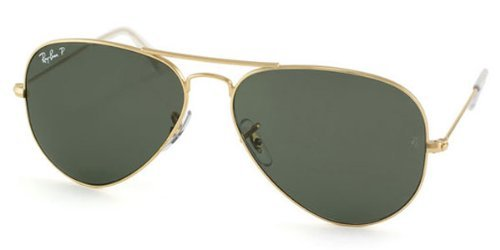 Occhiali da sole polarizzati Ray-Ban Aviator Large Metal RB3025 C62 001/58