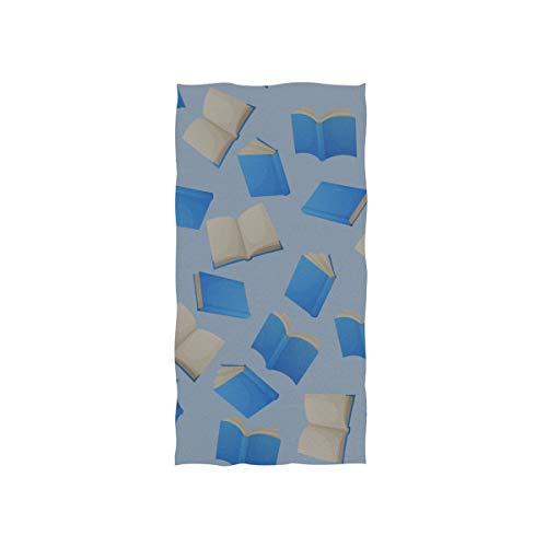 Dickes Buch Papiere Zeichen Weiche Spa Strand Badetuch Fingerspitze Handtuch Waschlappen Für Baby Erwachsene Bad Strand Dusche Wrap Hotel Travel Gym Sport 30x15 Zoll (Baby-dusche-zeichen Buch In)