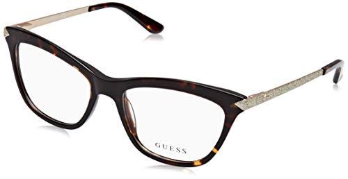 Guess Unisex-Erwachsene GU2655 052 53 Brillengestelle, Braun (Avana Scura),