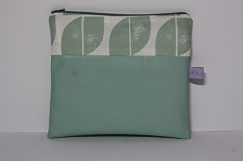 Lilli Cœur de Lion main Trousse Sac à langer Green Leaves